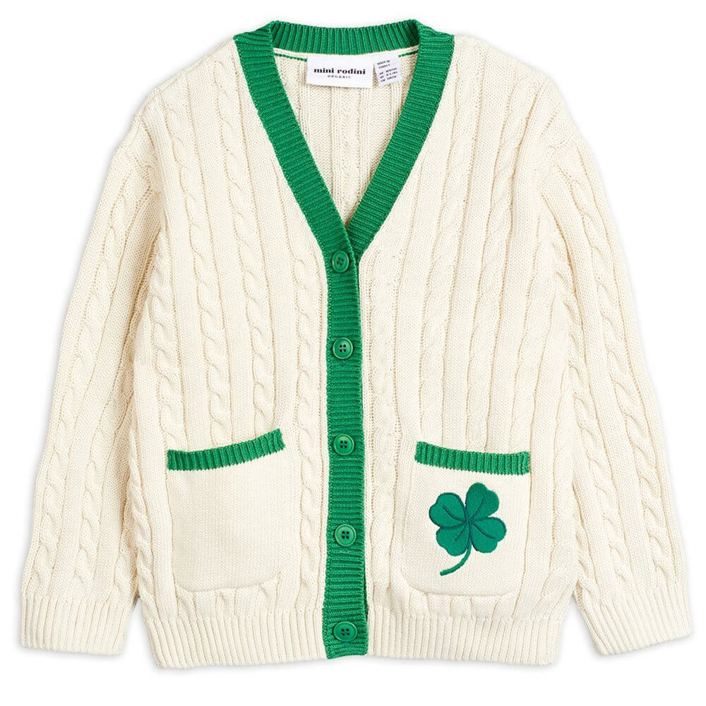 Mini Rodini Tennis Cardigan | Tiny People