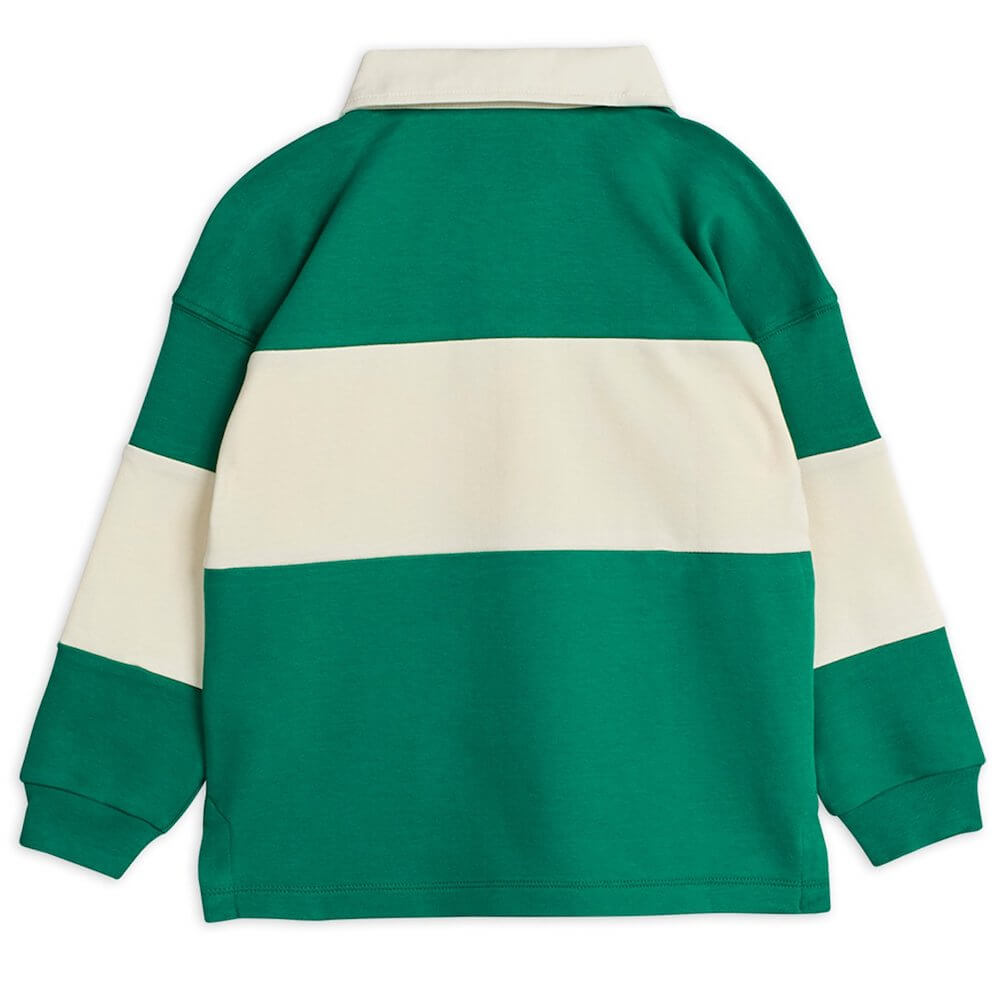 Mini Rodini Rugby Shirt (Green) | Tiny People