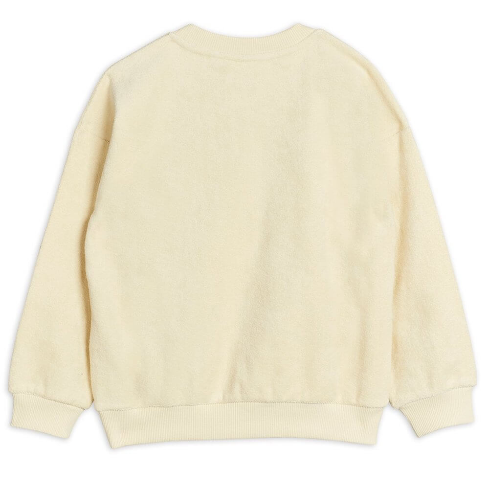 Mini Rodini Teddy Patch Terry Sweatshirt | Tiny People