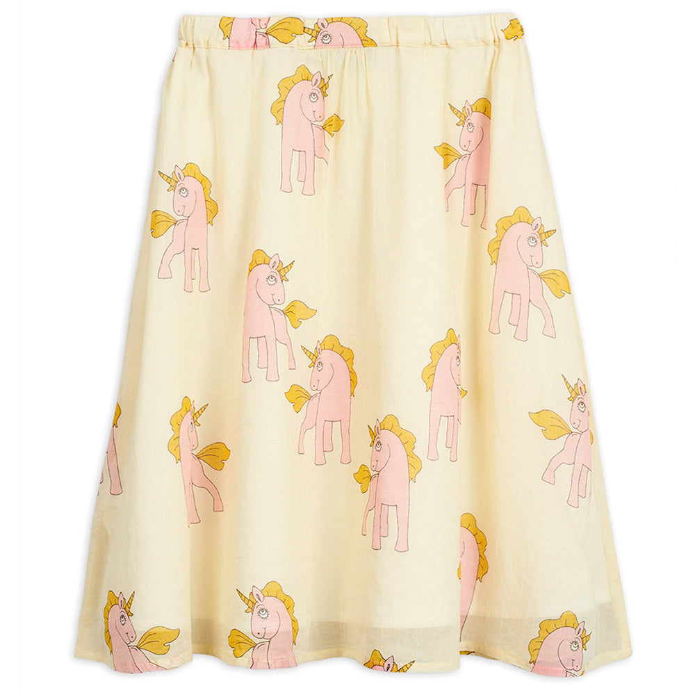 Mini Rodini Unicorn Woven Long Skirt | Tiny People