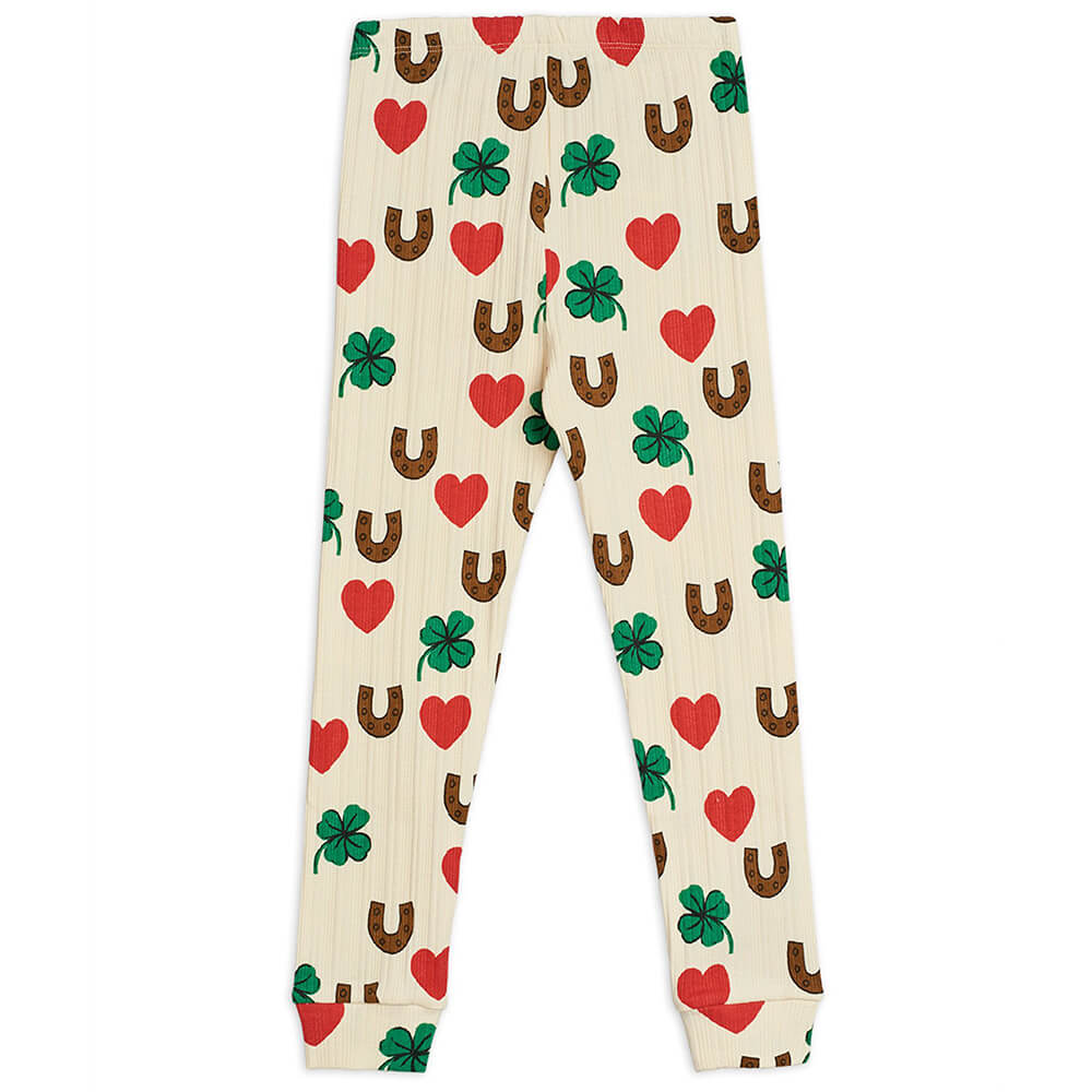 Mini Rodini Clover Leggings | Tiny People
