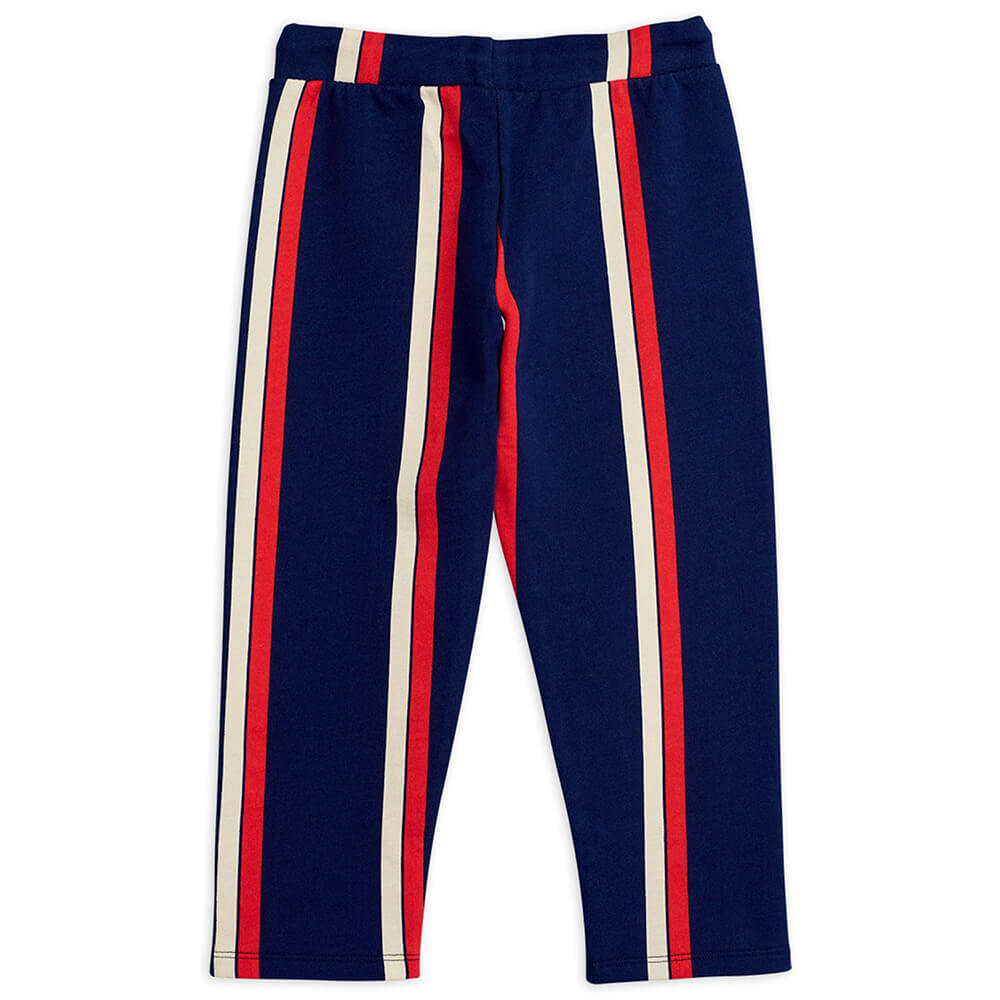 Mini Rodini Stripe Sweatpants (Blue) | Tiny People