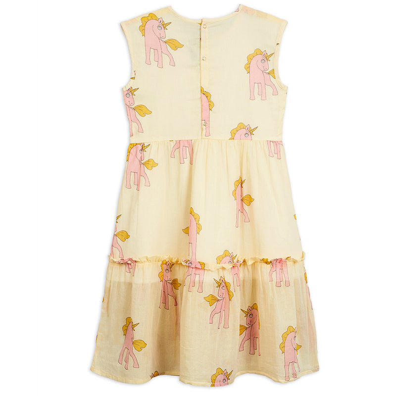 Mini Rodini Unicorn Woven Long Dress | Tiny People