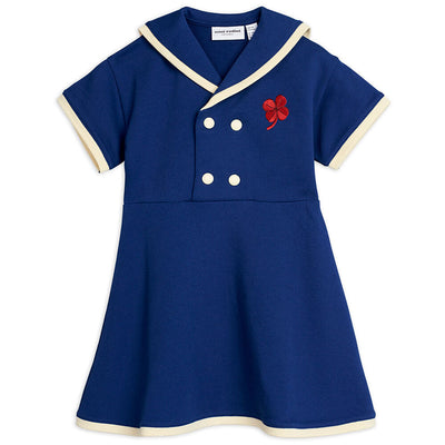 Mini Rodini Sailor Sweatdress (Blue) | Tiny People
