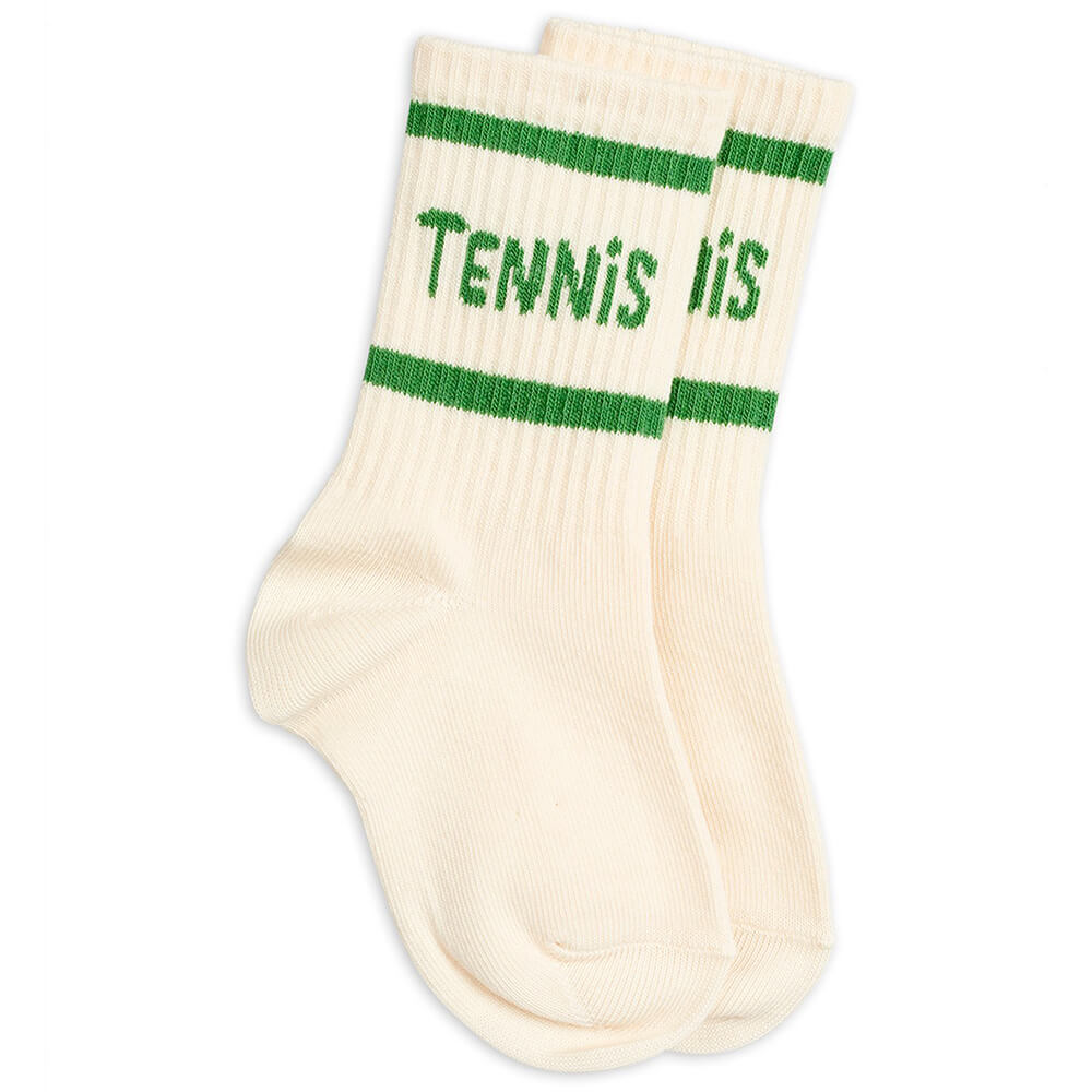 Mini Rodini Tennis Socks (OffWhite) | Tiny People