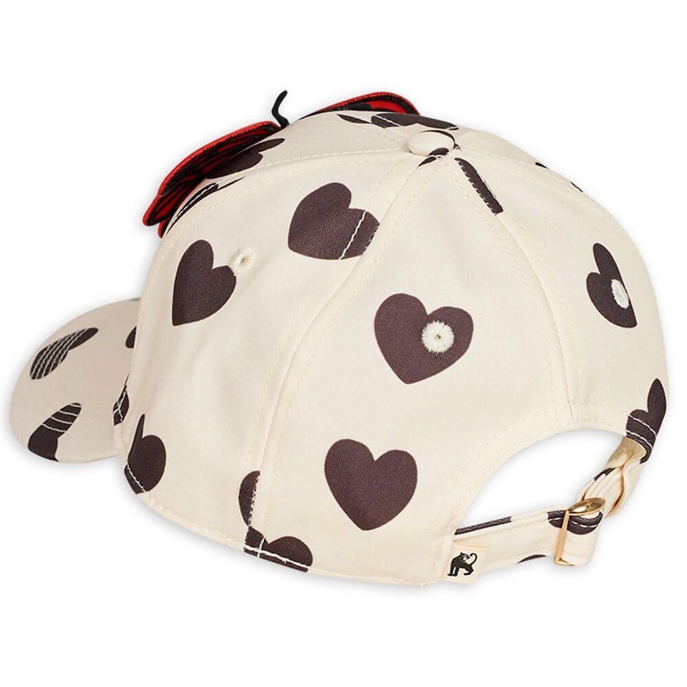 Mini Rodini Hearts / Butterflies Cap | Tiny People