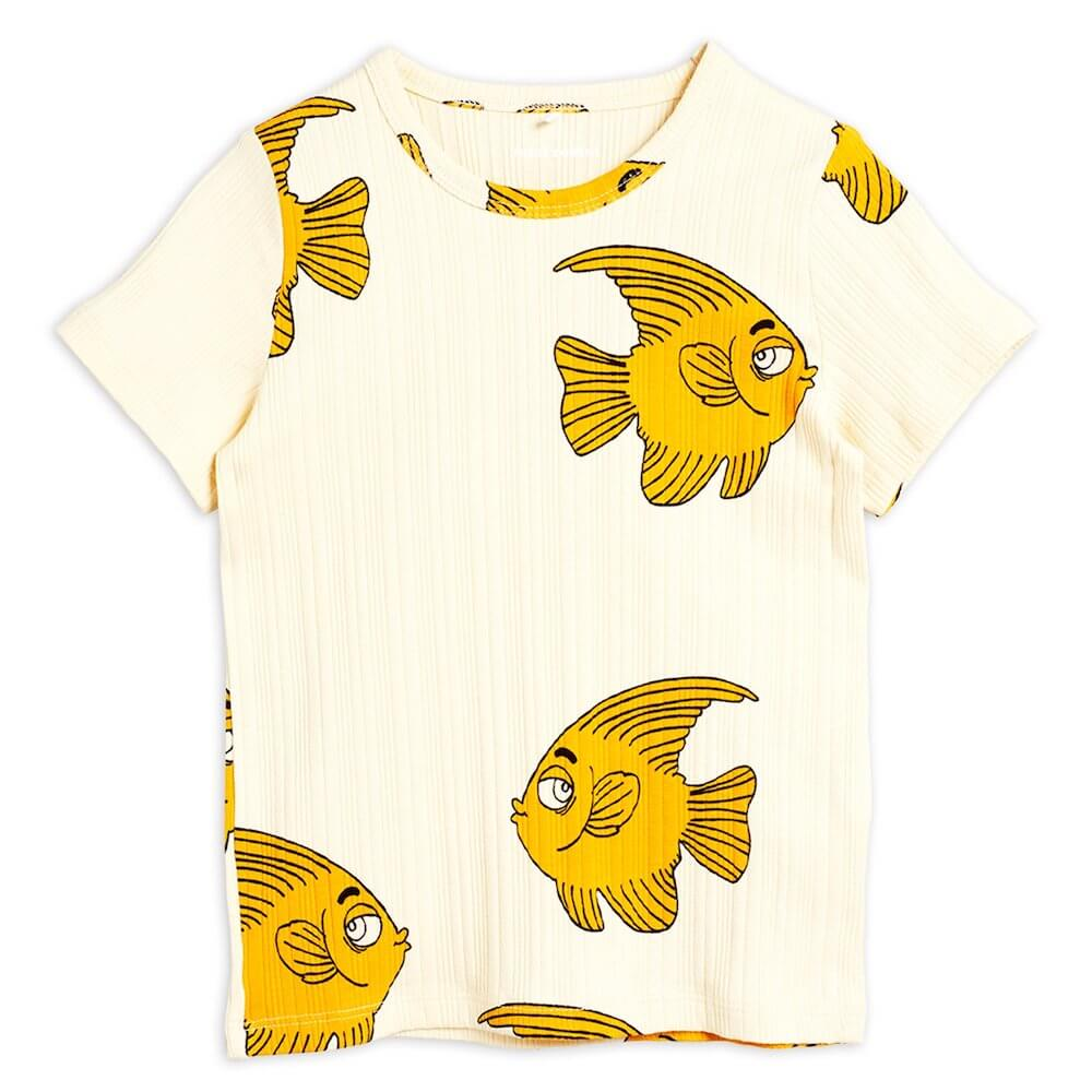 Mini Rodini Fish SS Tee | Tiny People