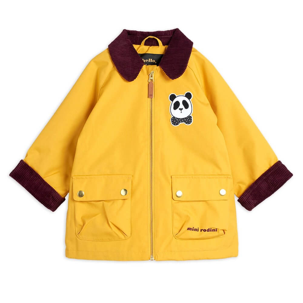Mini Rodini Padded Country Jacket (Yellow) | Tiny People