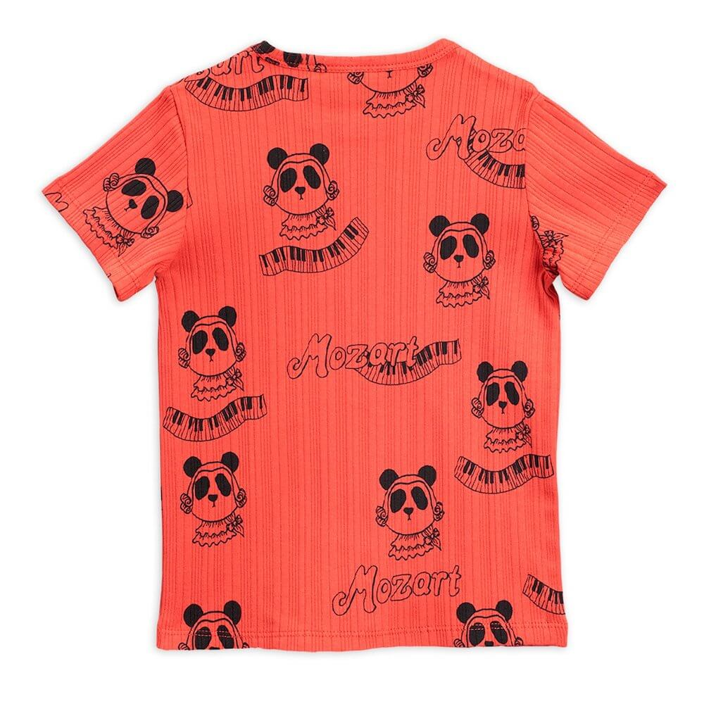 Mini Rodini Mozart SS Tee (Red) | Tiny People
