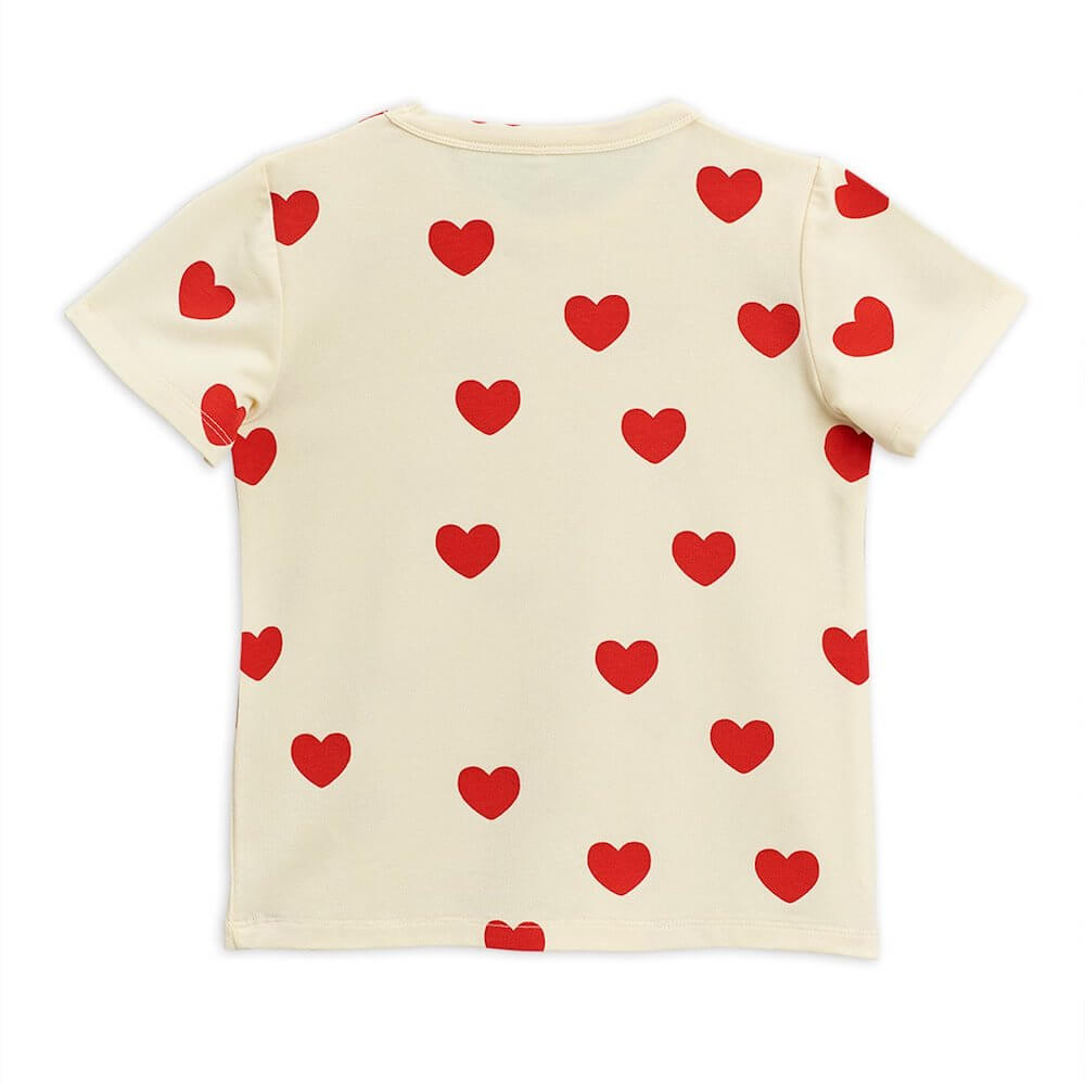 Mini Rodini Hearts SS Tee | Tiny People