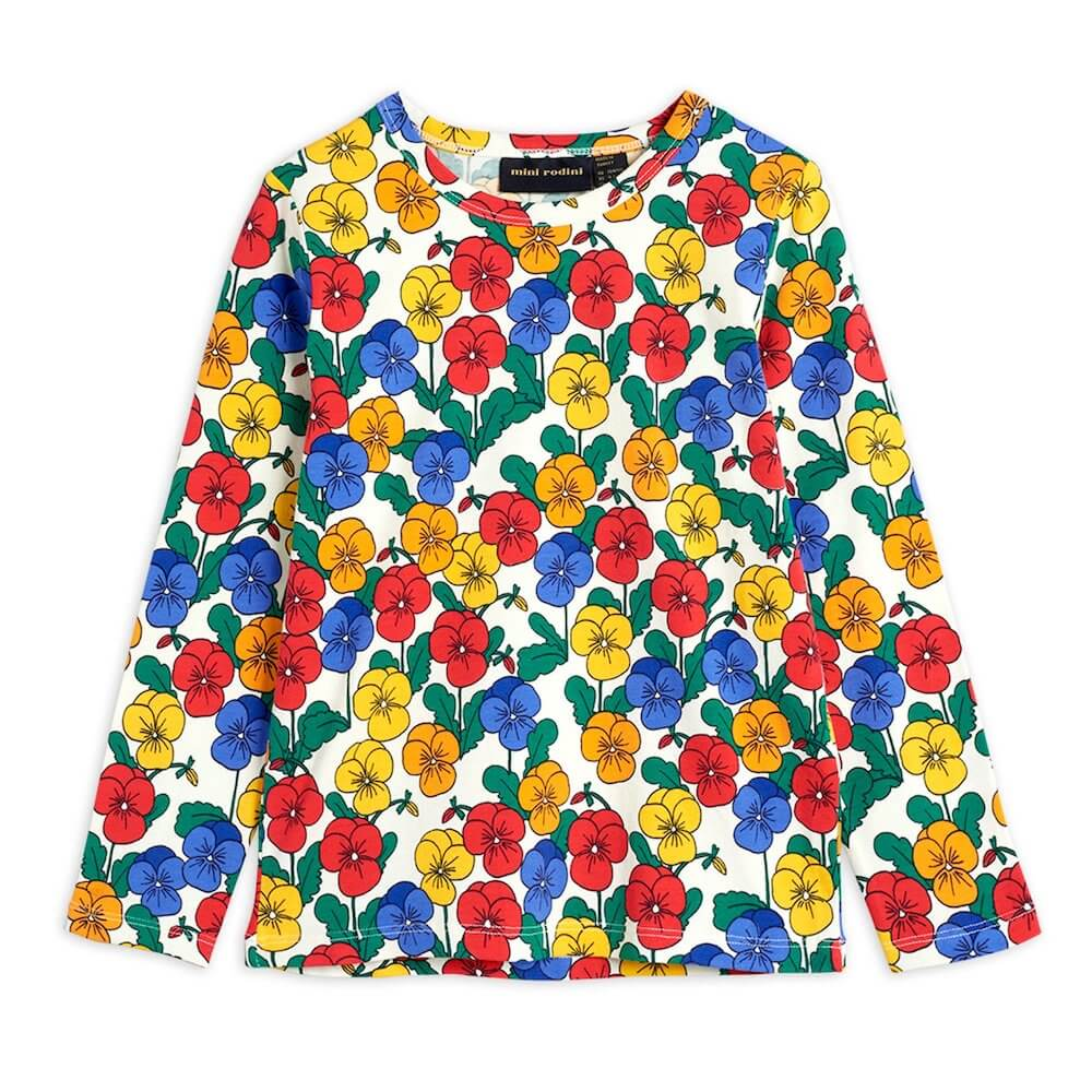 Mini Rodini Violas LS Tee | Tiny People