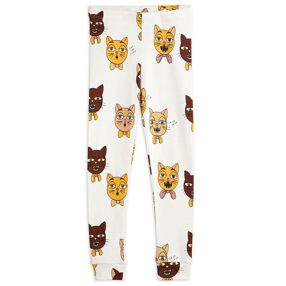 Mini Rodini Cat Choir Leggings | Tiny People