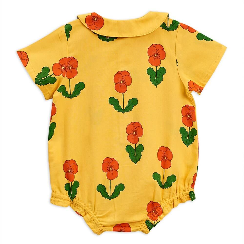 Mini Rodini Violas Woven Bodysuit | Tiny People