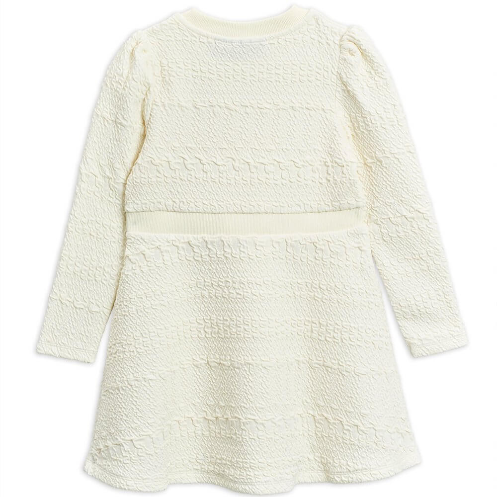 Mini Rodini Flower Patch Sweatdress (OffWhite) | Tiny People