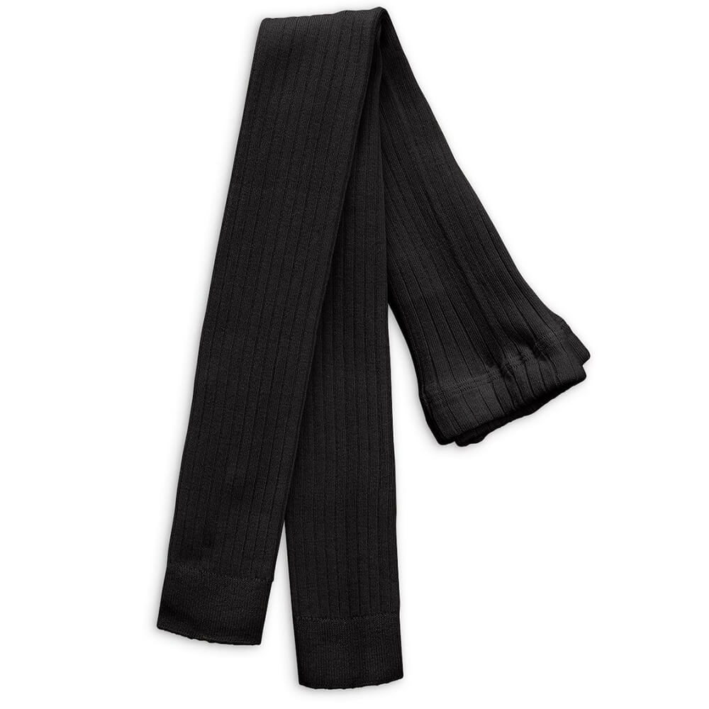 Mini Rodini Ribbed Leggings (Black) | Tiny People
