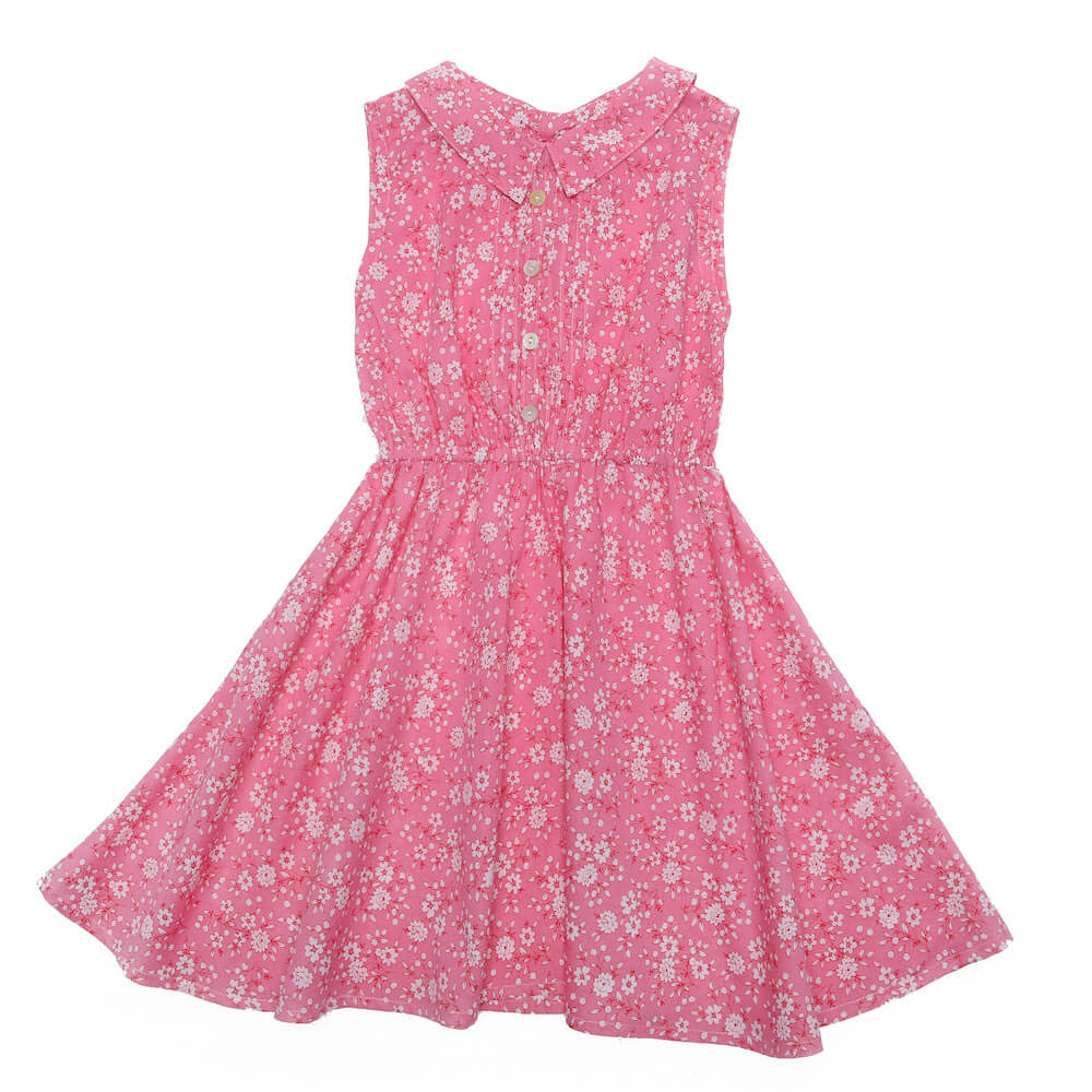 Coco & Ginger Cinnamon Dress Pink Whisper | Tiny People