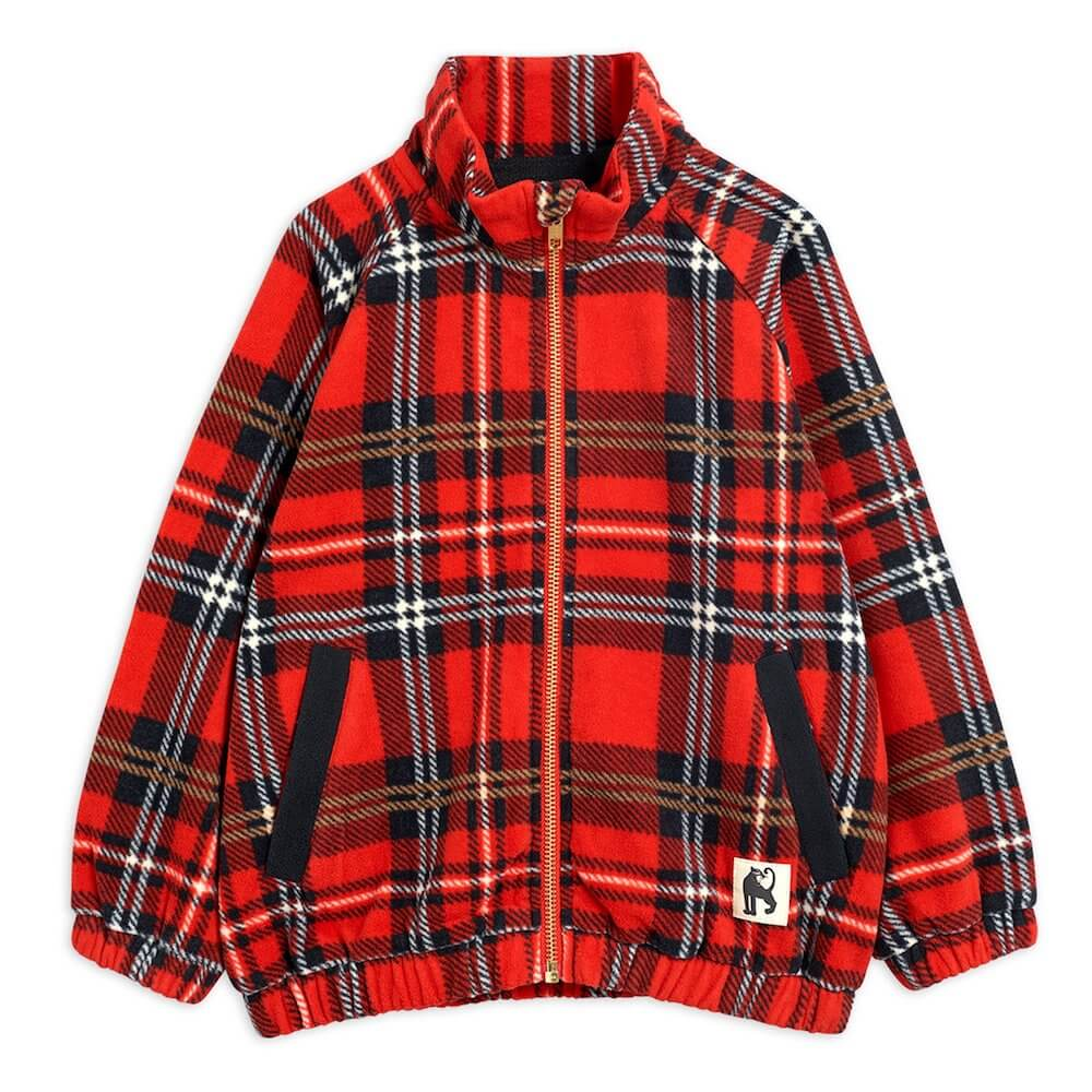 Mini Rodini Fleece Check Jacket | Tiny People