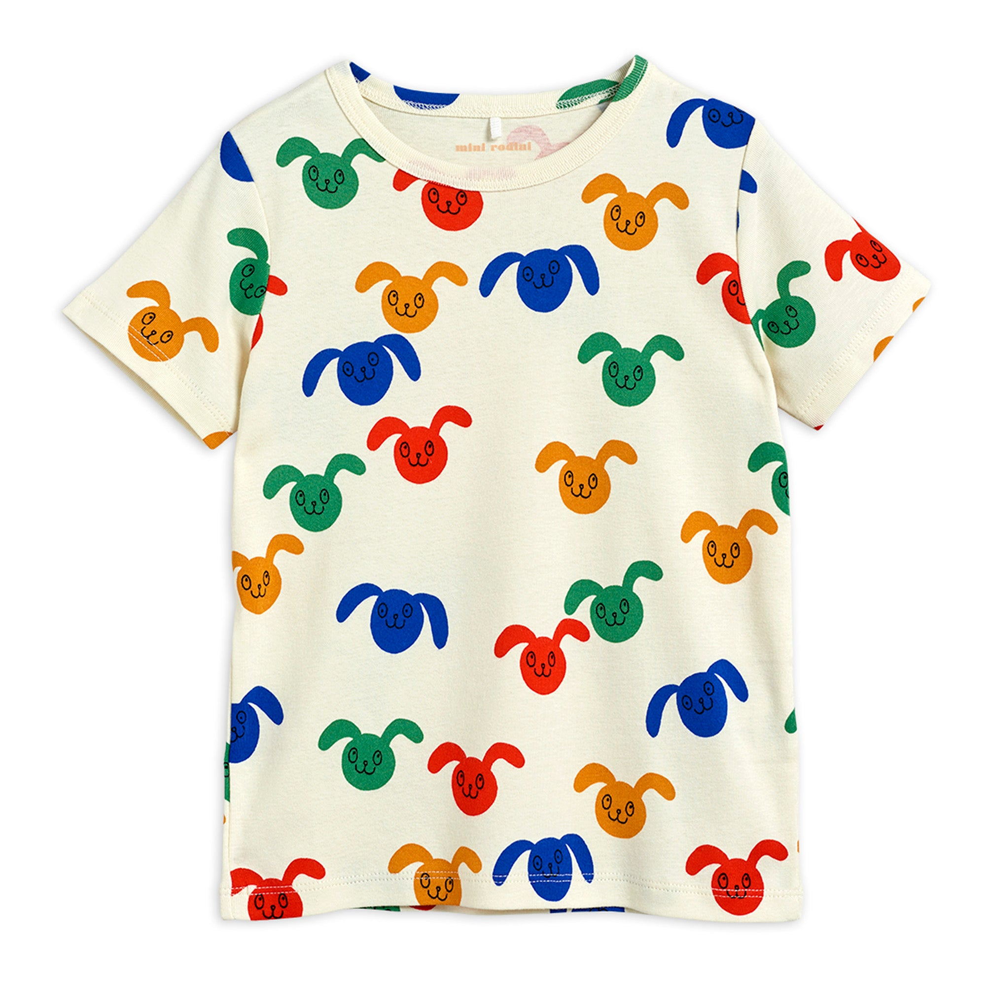 Mini Rodini Rabbits SS Tee Multi | Tiny People