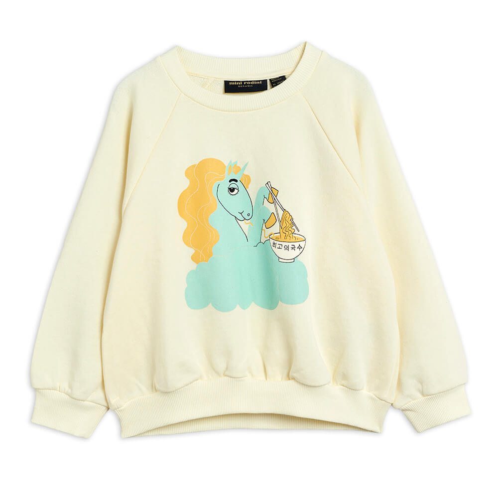 Mini Rodini Unicorn Noodle SP Sweatshirt | Tiny People