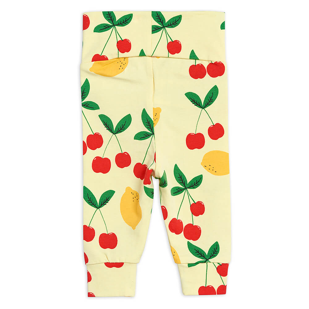 Mini Rodini Cherry Lemonade Newborn Leggings | Tiny People