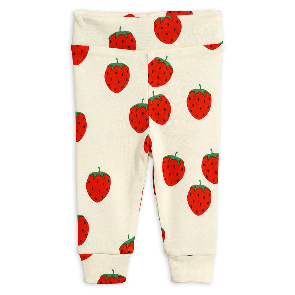 Mini Rodini Strawberry Newborn Leggings | Tiny People