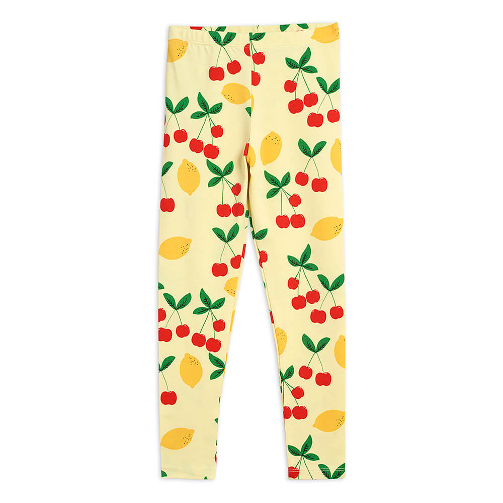Mini Rodini Cherry Lemonade Leggings | Tiny People