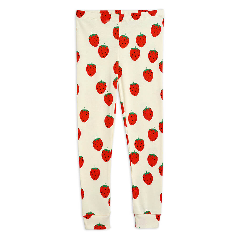 Mini Rodini Strawberry Leggings | Tiny People