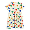 Mini Rodini Rabbits SS Dress Multi | Tiny People