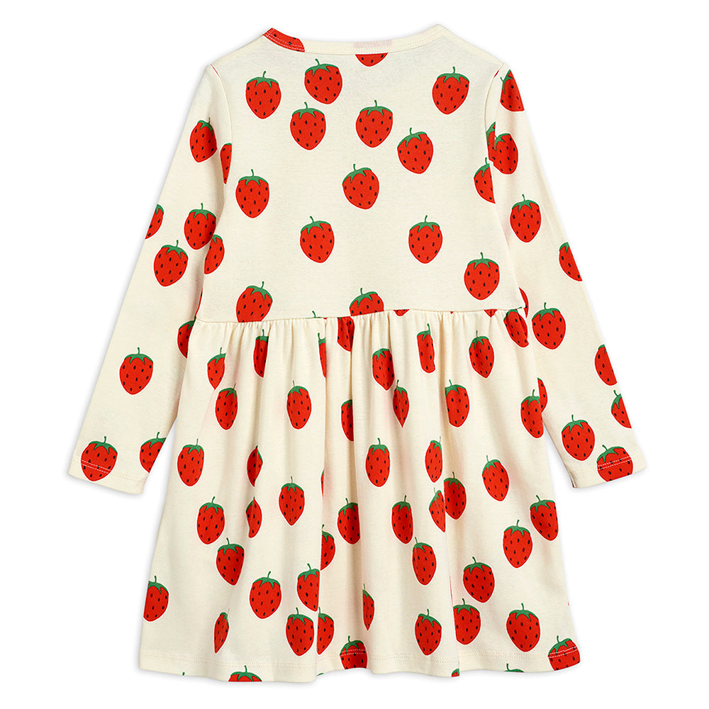Mini Rodini Strawberry L/S Dress | Tiny People
