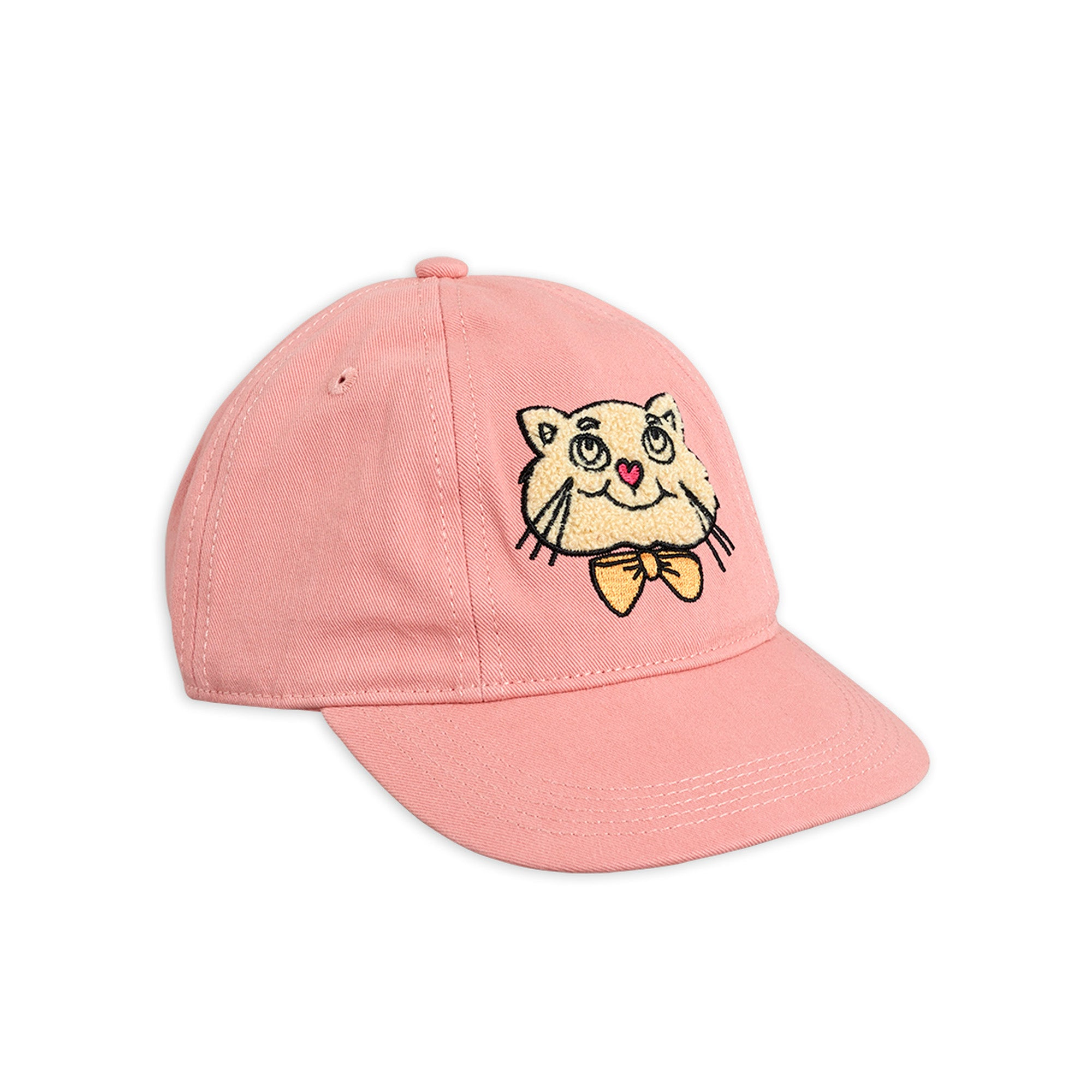 Mini Rodini Cat Soft Cap Pink | Tiny People