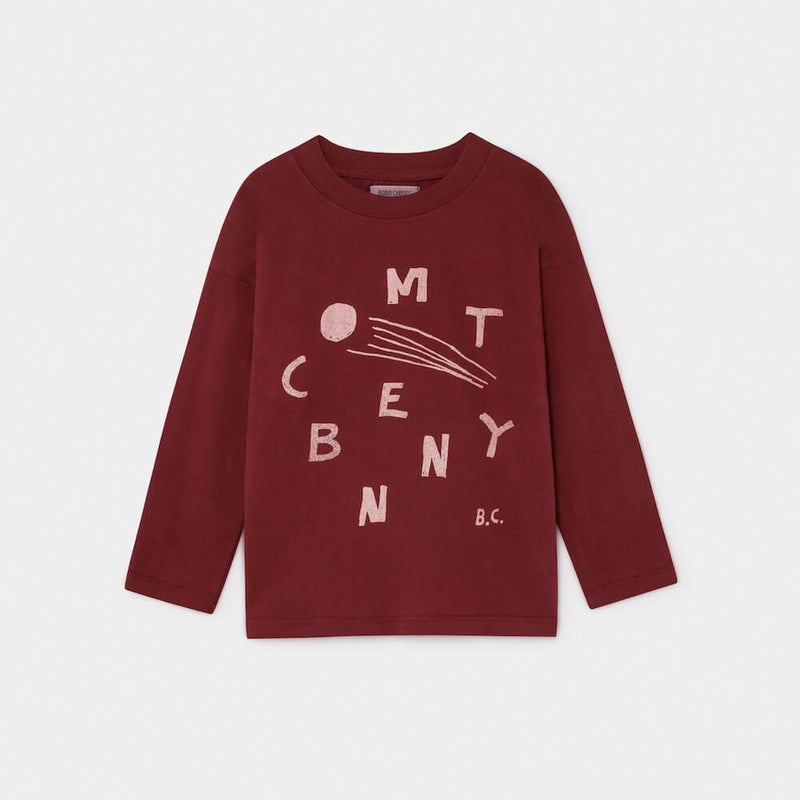 Bobo Choses Comet Benny Long Sleeve T-Shirt Tops & Tees - Tiny People Cool Kids Clothes