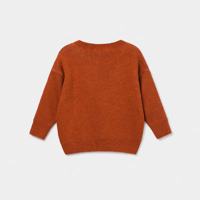 Bobo Choses Bobo Jacquard Knit Jumper Boys Crews & Hoodies - Tiny People Cool Kids Clothes