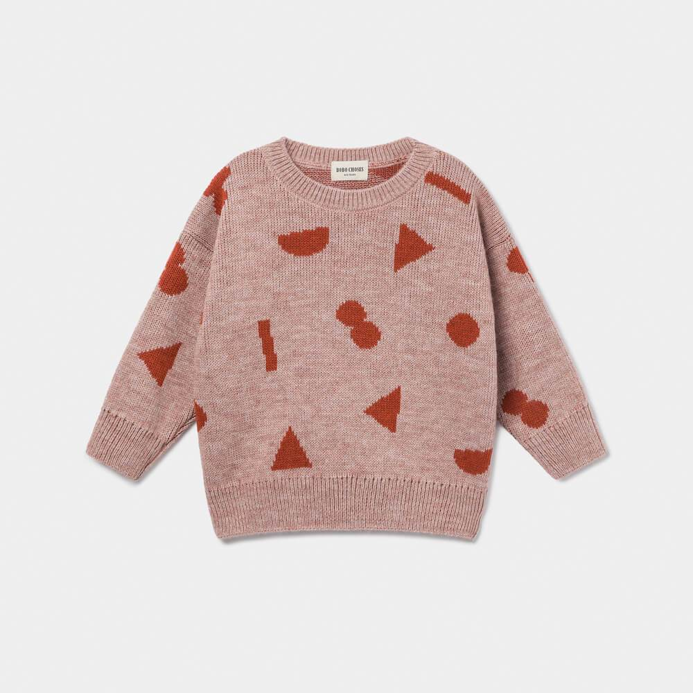 Stuff Jacquard Knit Jumper