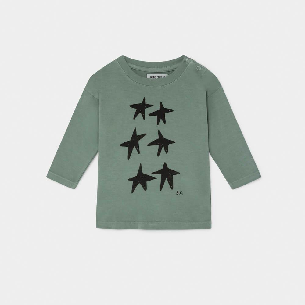 Stars Baby Long Sleeve T-Shirt