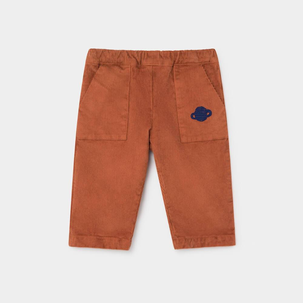 Saturn Corduroy Baby Straight Pants