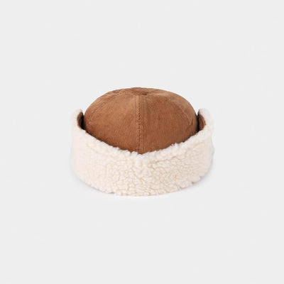 We Cosmos Sheepskin Cap