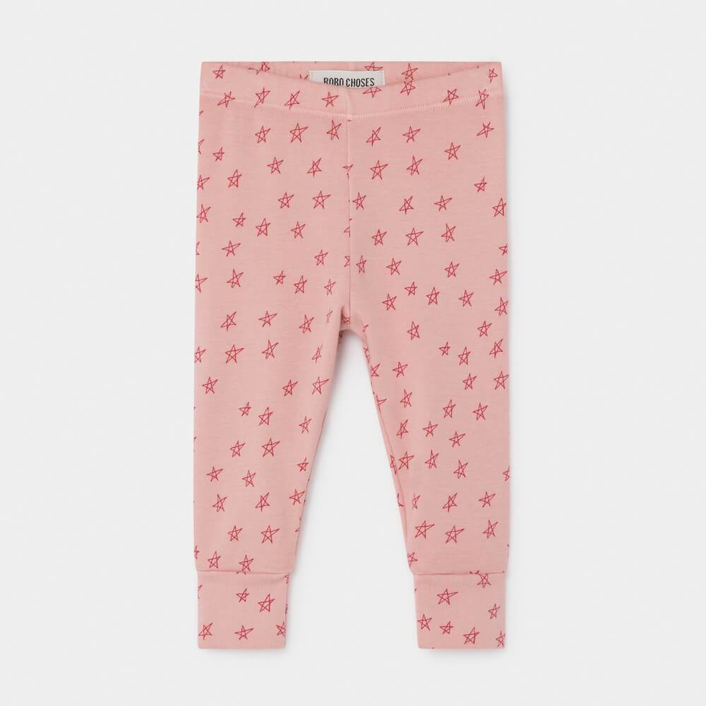 Bobo Choses All Over Stars Leggings Pants & Leggings - Tiny People Cool Kids Clothes