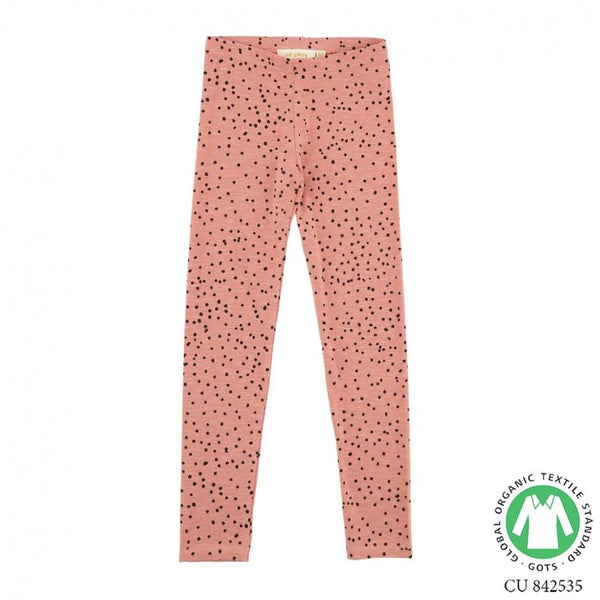 Soft Gallery Paula Leggings Rose Dawn Dotties - Tiny People Cool Kids Clothes Byron Bay