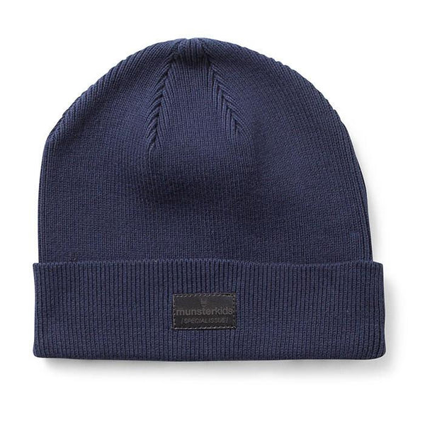 Munster Kids Arrow Beanie Navy - Tiny People Cool Kids Clothes Byron Bay