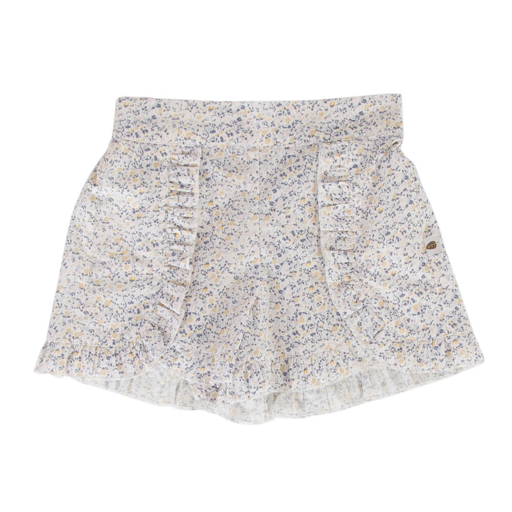 Peggy Amara Short Mini Blue Floral | Tiny People
