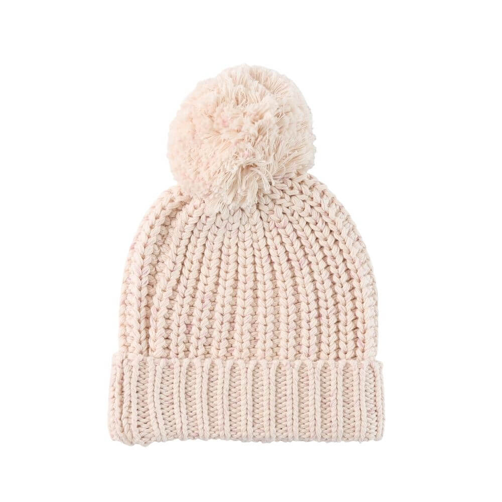 Jamie Kay Cosy Hat Pastel Fleck | Tiny People