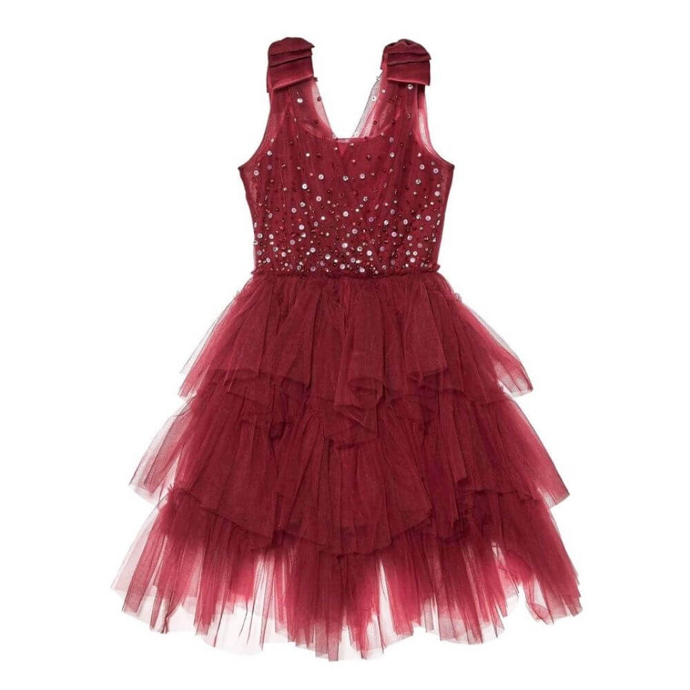 Tutu Du Monde Noelle Tutu Dress Crimson | Tiny People