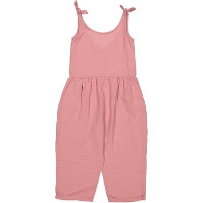Carlota Barnabe Anouk Jumpsuit Pink Girls Dresses - Tiny People Cool Kids Clothes