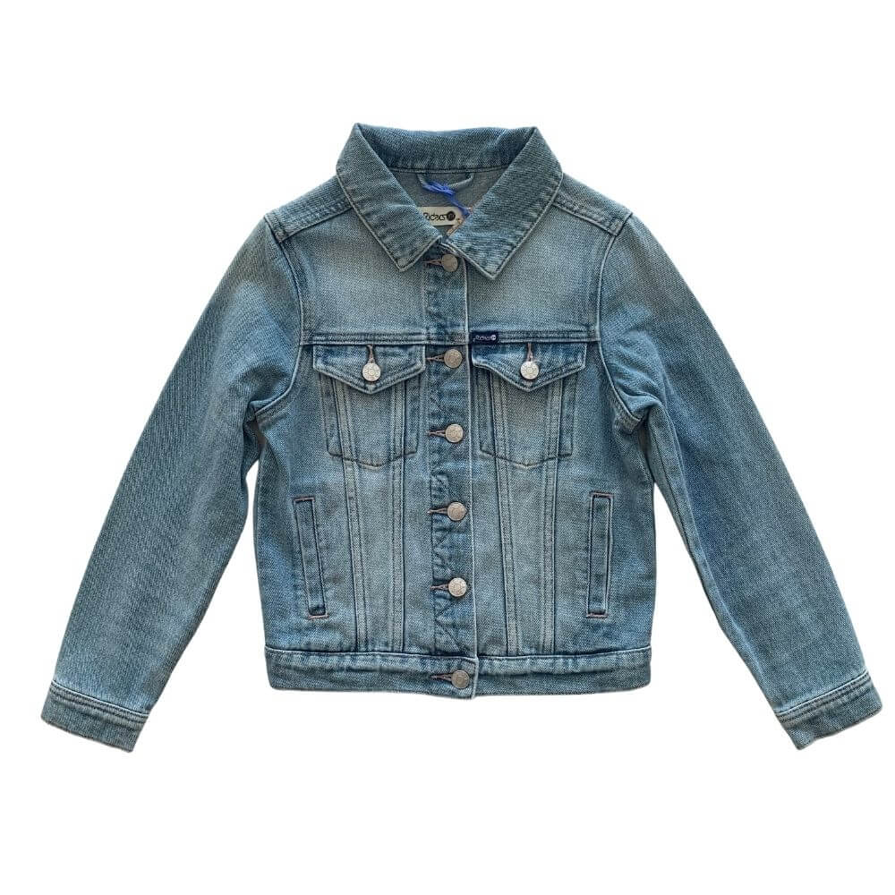Classic Trucker Jacket Genuine Blue