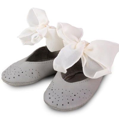 Donsje Angel Booties - Light Grey - Tiny People Cool Kids Clothes Byron Bay
