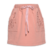 Cut Out Sweat Skirt Caramel