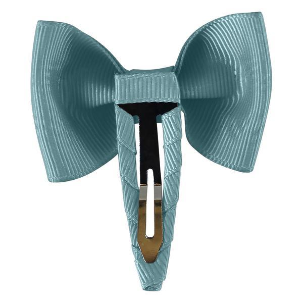 Milledeux Bowtie Bow Hair Clip - Turquoise - Tiny People Cool Kids Clothes Byron Bay