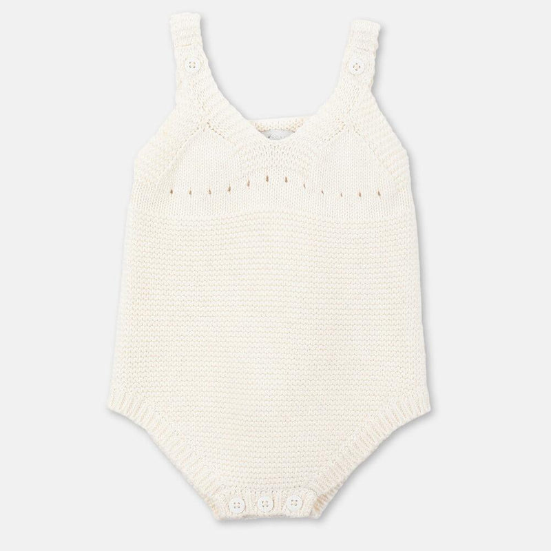 Stella McCartney Bunny Cotton Wool Bodysuit Onesies & Rompers - Tiny People Cool Kids Clothes