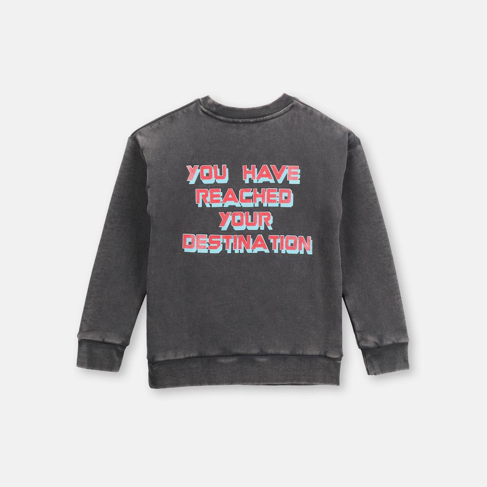 Stella McCartney Collage Cotton Sweatshirt Jumper - Tiny People Cool Kids Clothes