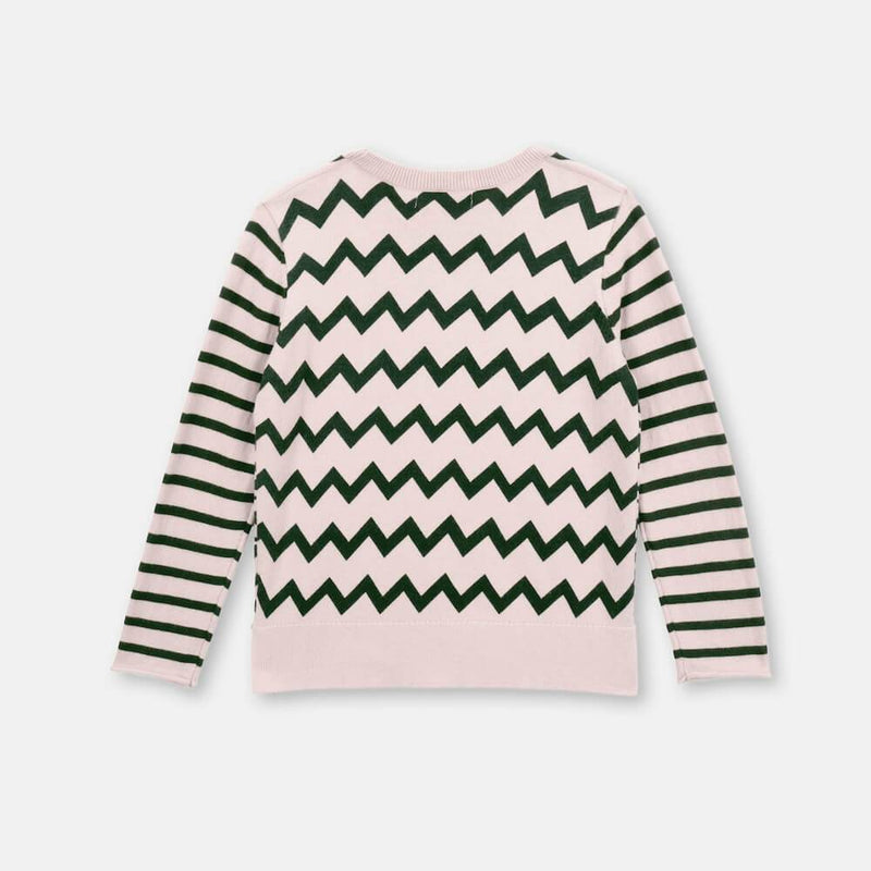 Stella McCartney Zebra Cotton-Wool Sweater Jumper - Tiny People Cool Kids Clothes